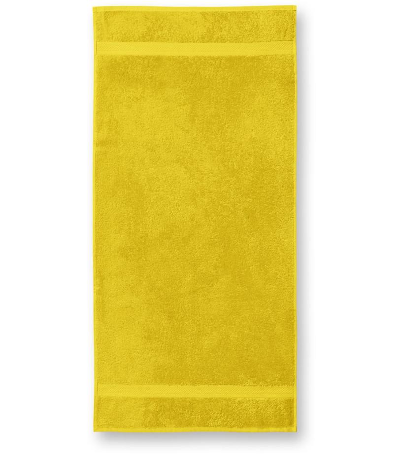 ADLER Terry Towel 50x100 Ručník 90304 žlutá 50x100