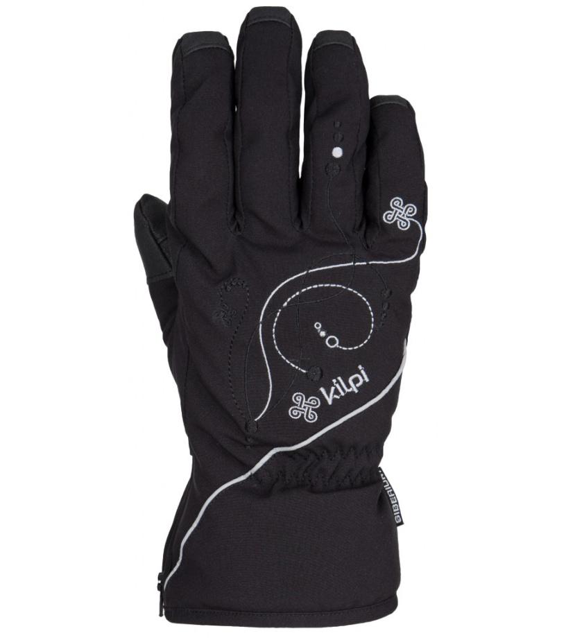 KILPI Dámské rukavice BERNINA DL0401KIBLK Černá L