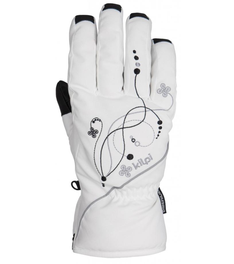 KILPI Dámské rukavice BERNINA DL0401KIWHT Bílá L