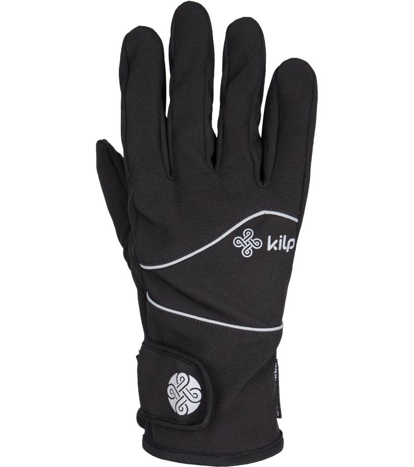 KILPI Dámské rukavice BRENNE DL0403KIBLK Černá L