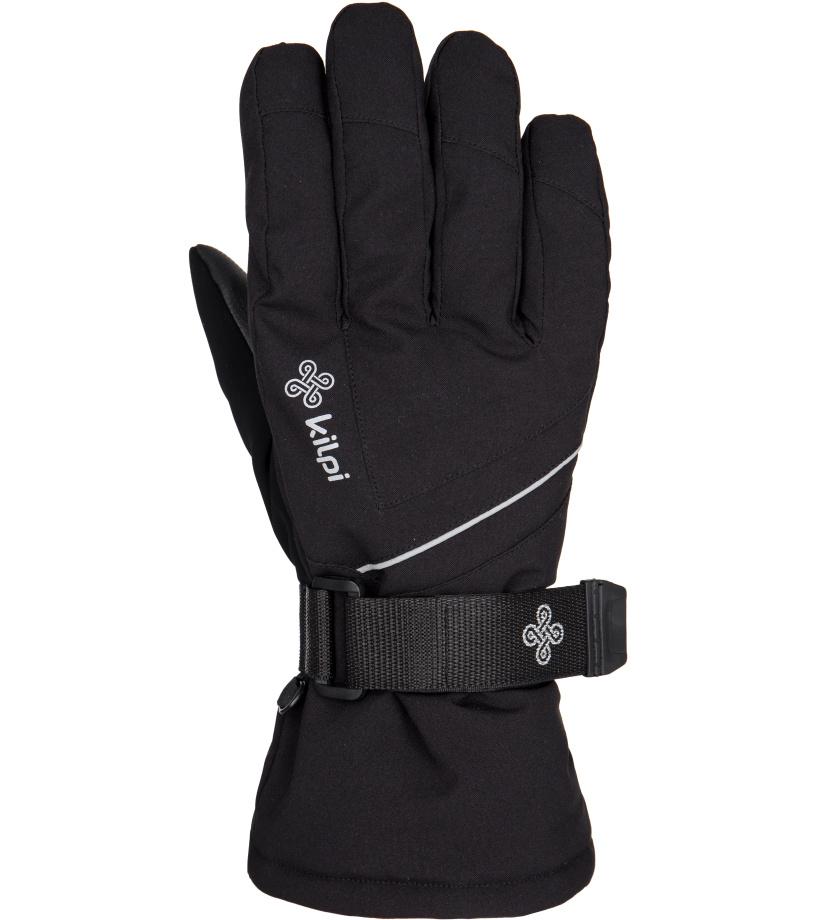 KILPI Pánské lyžařské rukavice TACOTAN DM0403KIBLK Černá M