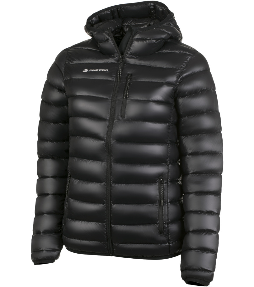 ALPINE PRO BEATRIX Dámská bunda LJCH078990 černá S-L