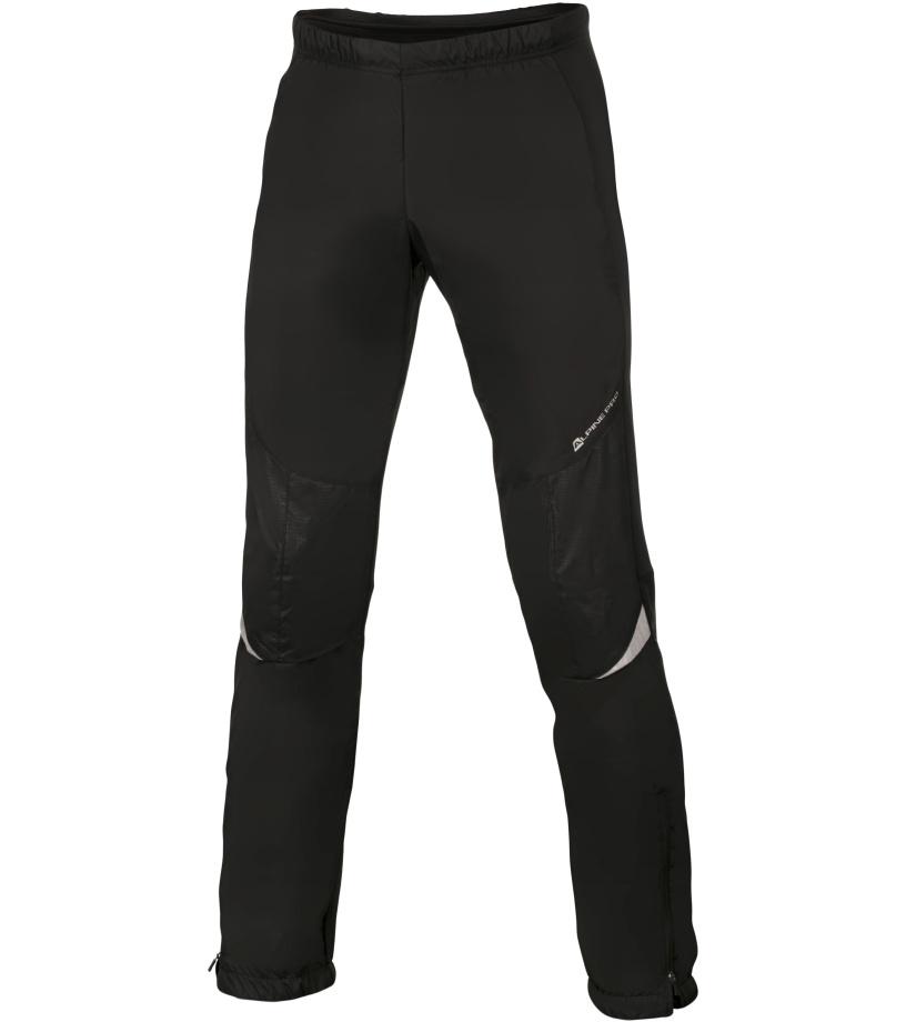 ALPINE PRO HUW Pánské kalhoty MPAH158990 černá M