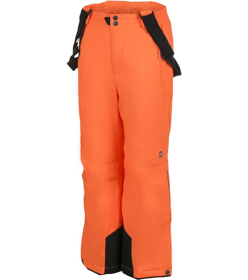 ALPINE PRO NUDDO Dětské kalhoty KPAH053343 neon pomeranč 104-110