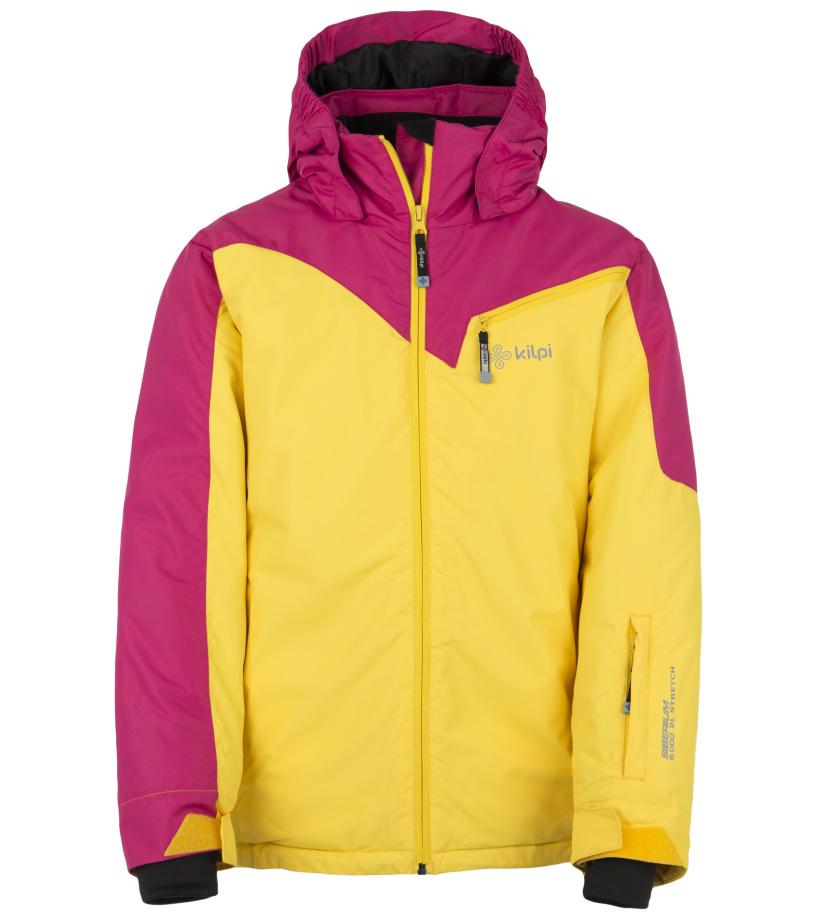 KILPI Dívčí lyžařská bunda KEIRA-JG DJ0001KIPNK Růžová 152