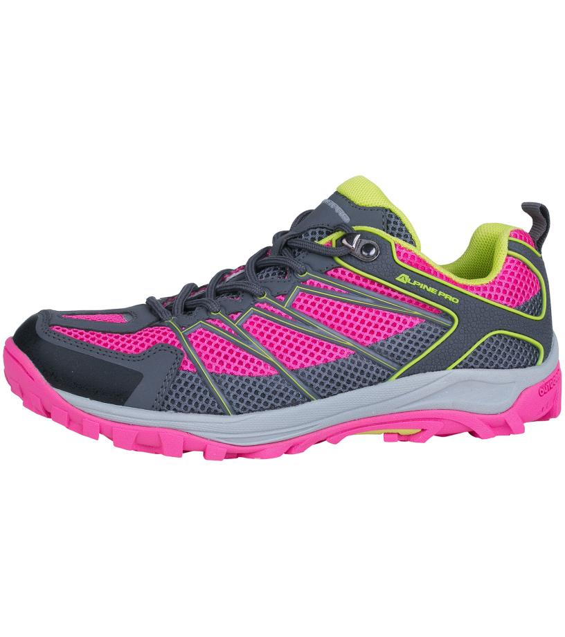 ALPINE PRO BARGAU Unisex obuv outdoor UBTG098411 fuchsiová