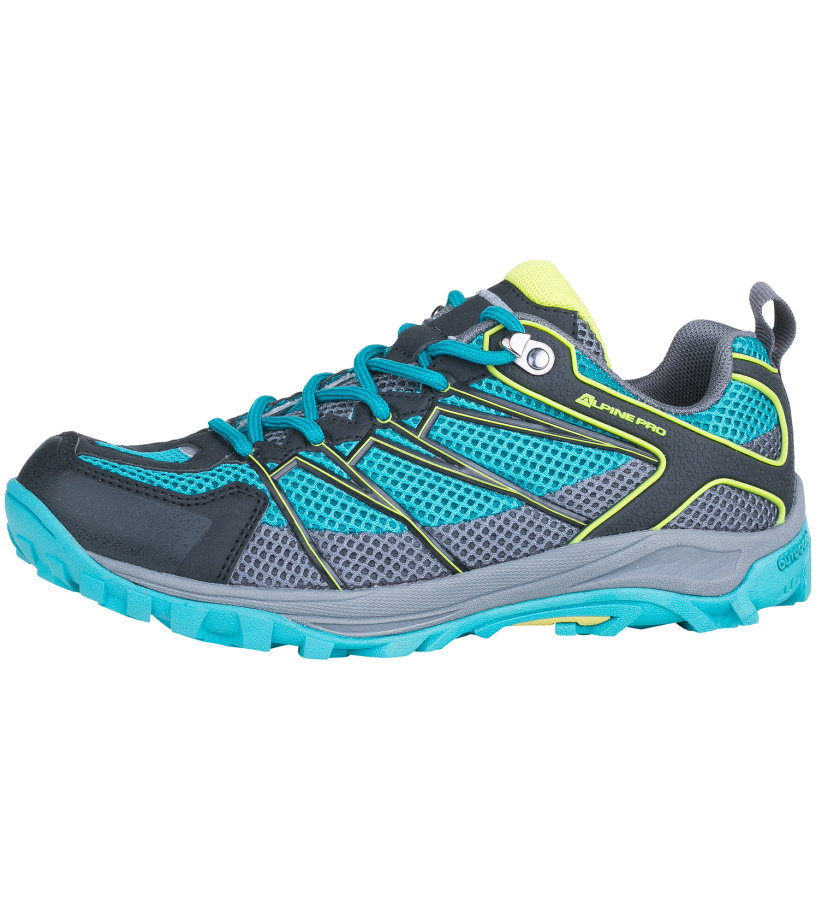 ALPINE PRO BARGAU Unisex obuv outdoor UBTG098655 modrá