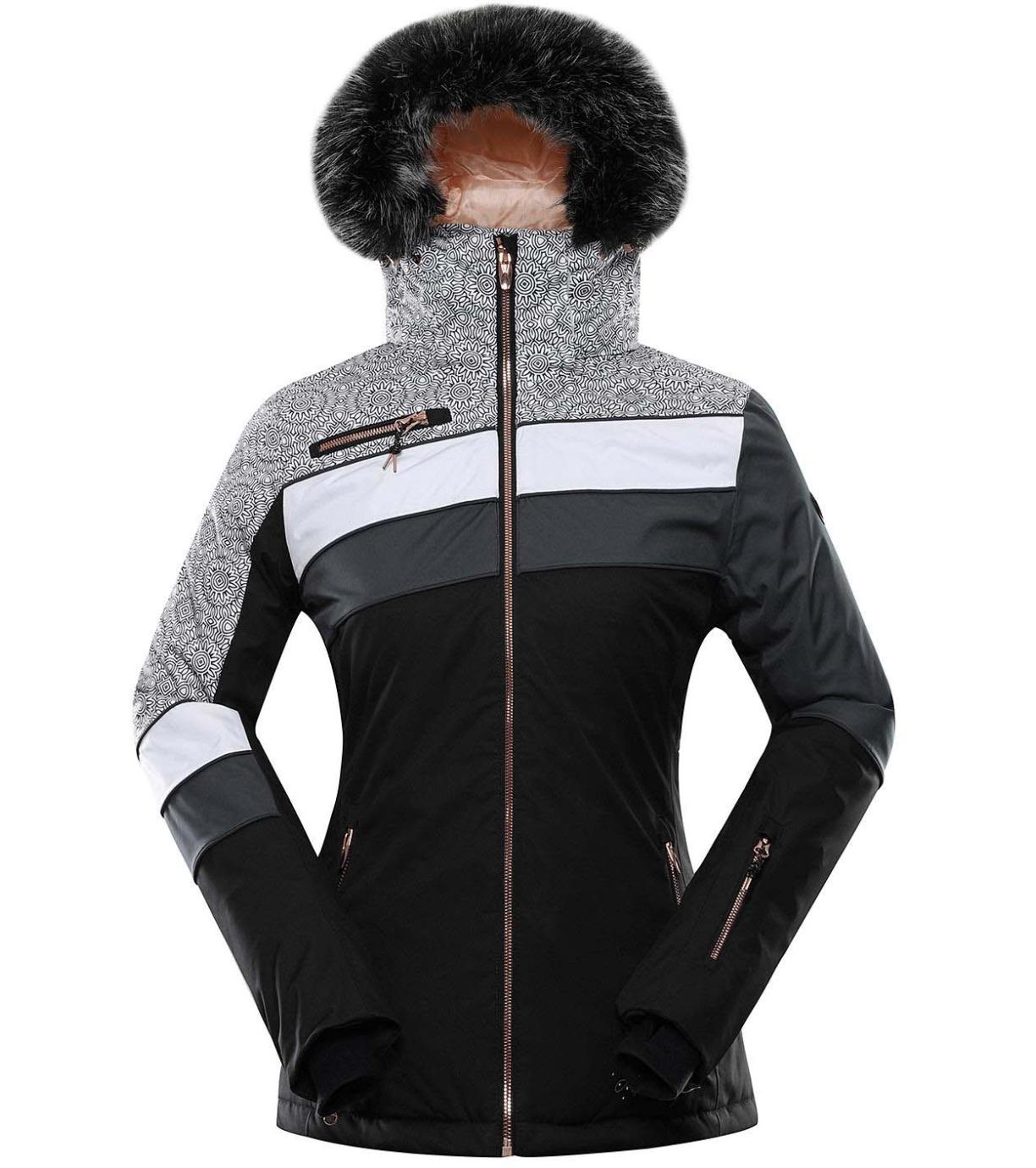 ALPINE PRO DORA 7 Dámská lyžařská bunda LJCS423990PA černá XL