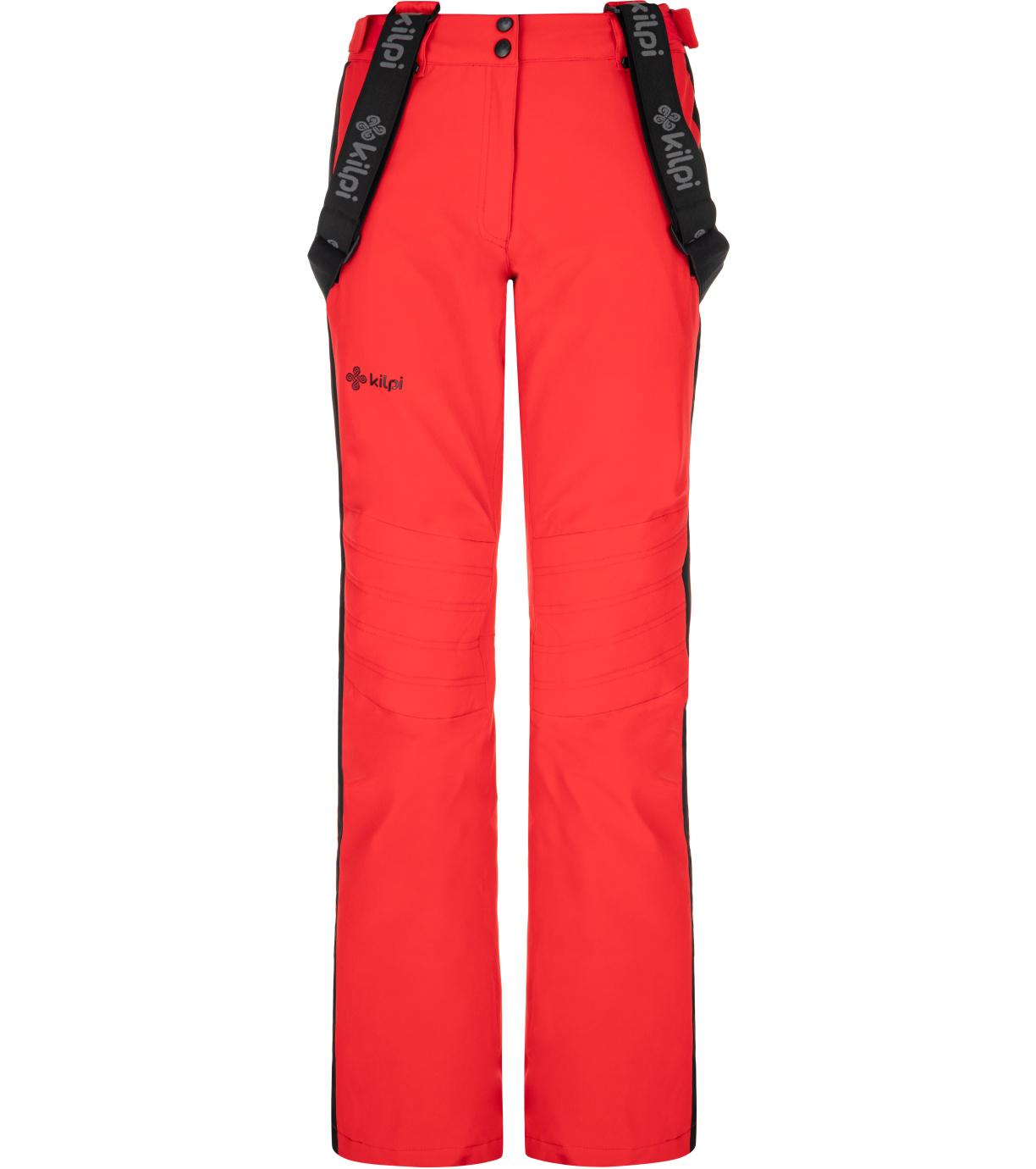 KILPI Dámské lyžařské kalhoty HANZO-W NL0082KIRED Červená 34