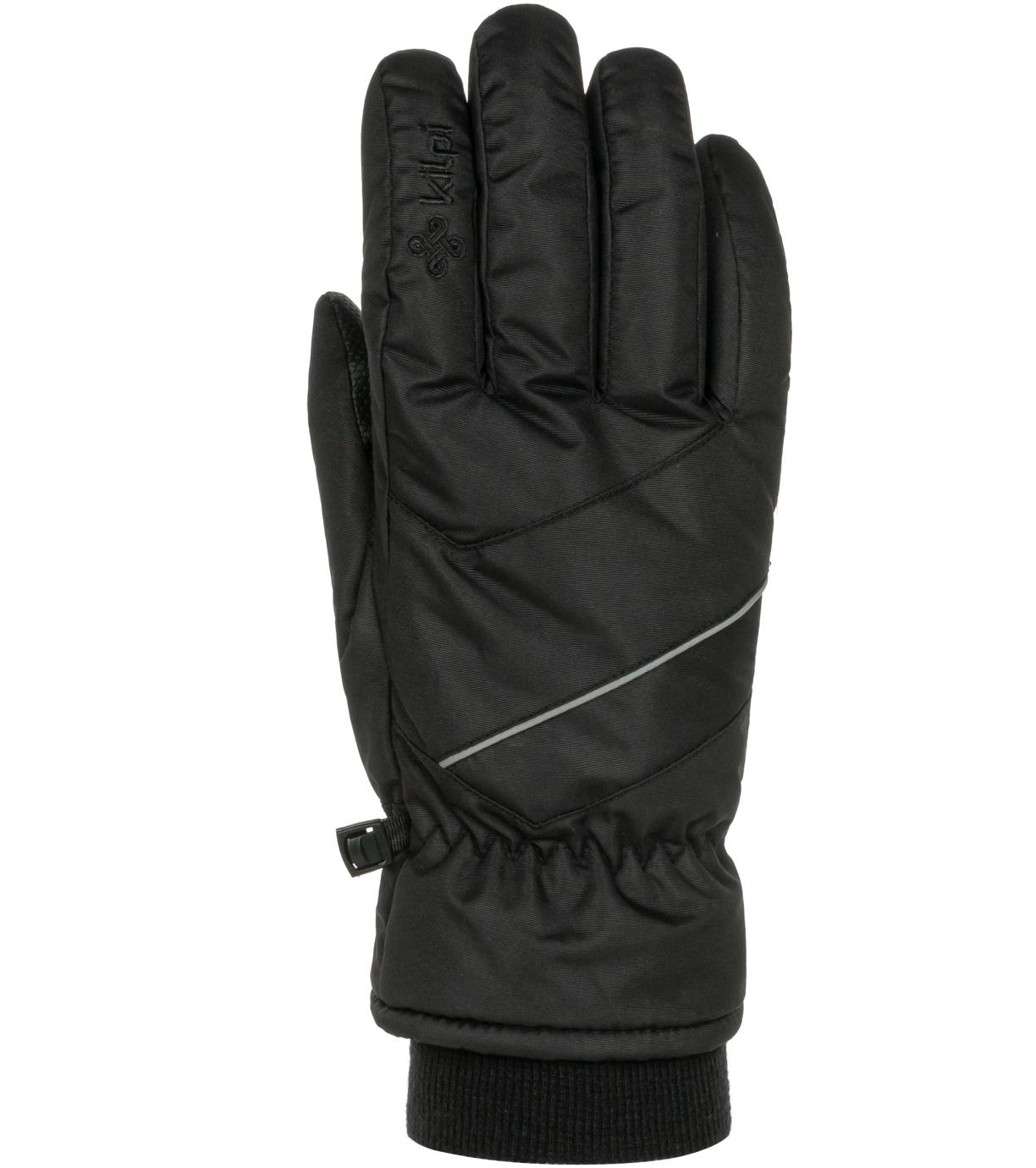 KILPI Unisex lyžařské rukavice TATA-U NU0020KIBLK Černá M