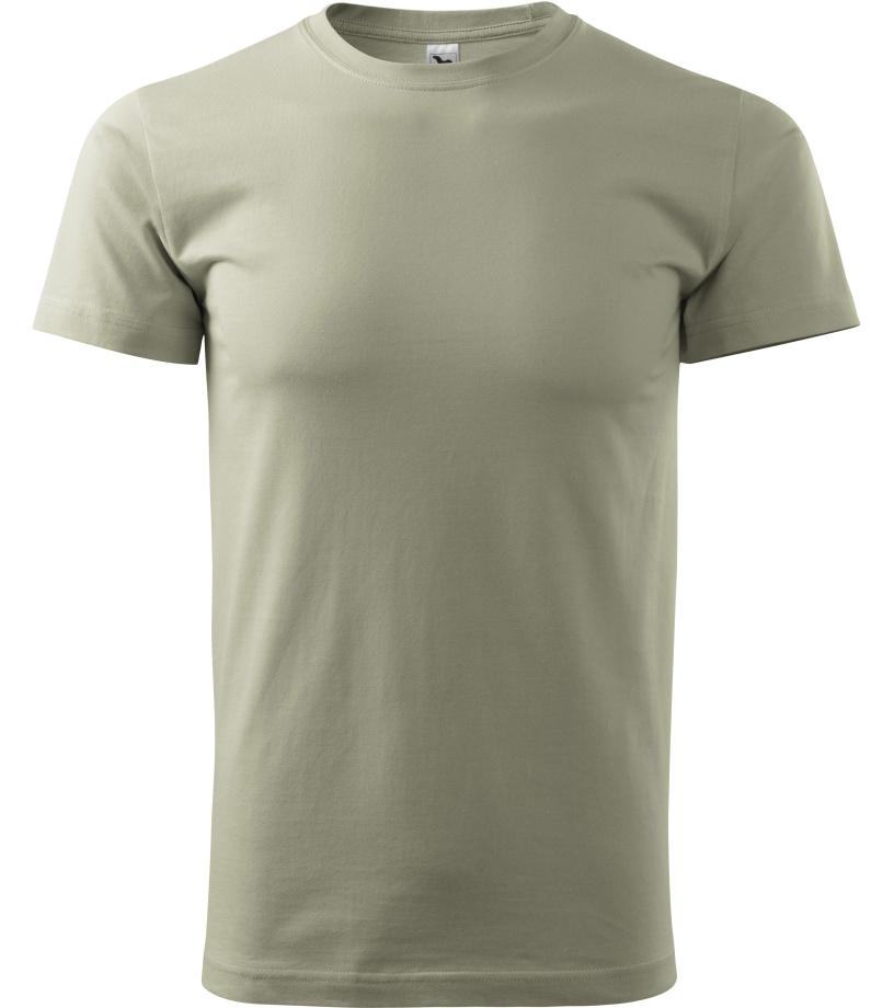 ADLER Basic Unisex triko 12928 světlá khaki XXL