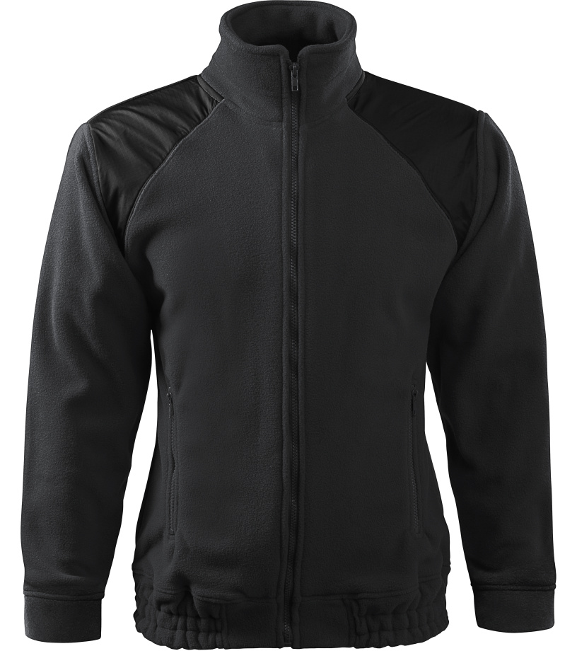 ADLER Jacket Hi-Q 360 Unisex fleece bunda 50694 eben šedá XL