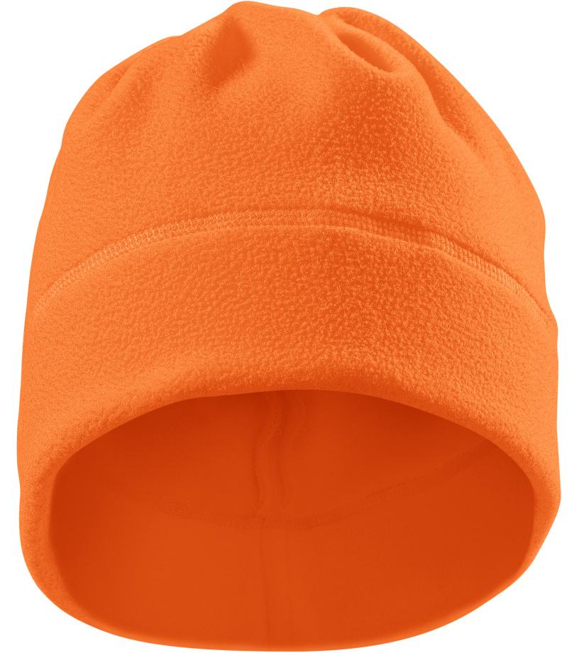RIMECK HV Practic Fleecová čepice 5V998 reflexní oranžová UNI
