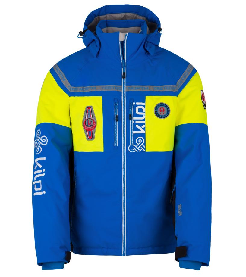 KILPI Pánská lyžařská bunda TEAM-M HM0001KIBLU Modrá