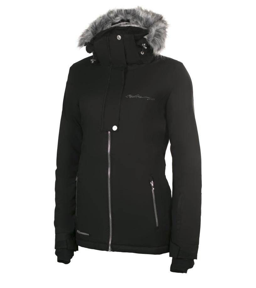 ALPINE PRO DORA 2 Dámská lyžařská bunda LJCH085990 černá S-L