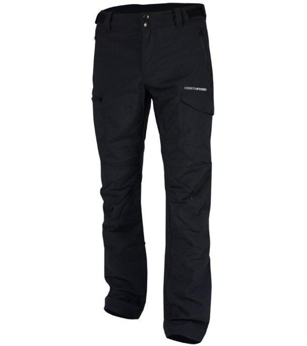 NORTHFINDER EDWIN Pánské outdoorové kalhoty NO-3252OR269 černá S