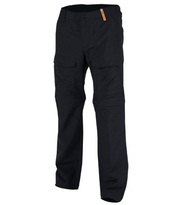 NORTHFINDER JAQUAN Pánské outdoorové kalhoty NO-3253OR269 černá XL