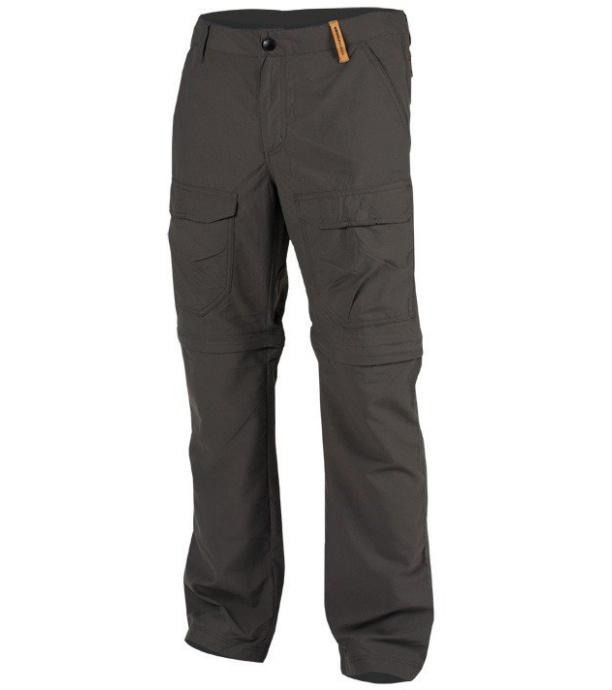 NORTHFINDER JAQUAN Pánské outdoorové kalhoty NO-3253OR301 tmavě šedá M
