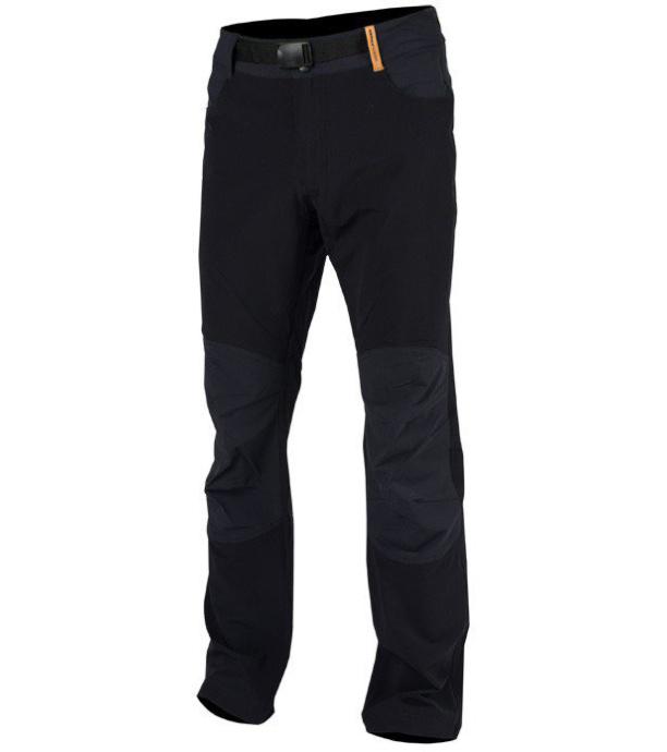 NORTHFINDER ERNIE Pánské outdoorové kalhoty NO-3256OR270 černá XXL