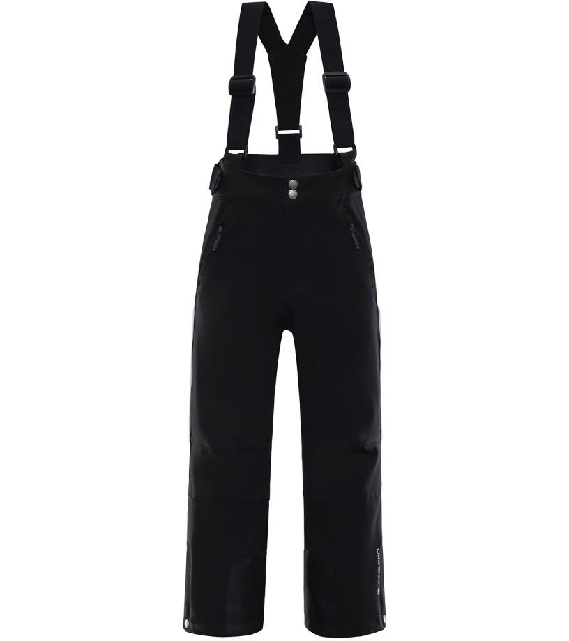 ALPINE PRO NEXO 2 Dětské lyžařské kalhoty KPAK092990 černá 128-134