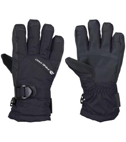 ALPINE PRO RENA Dámské lyžařské rukavice LGLK014990 černá S
