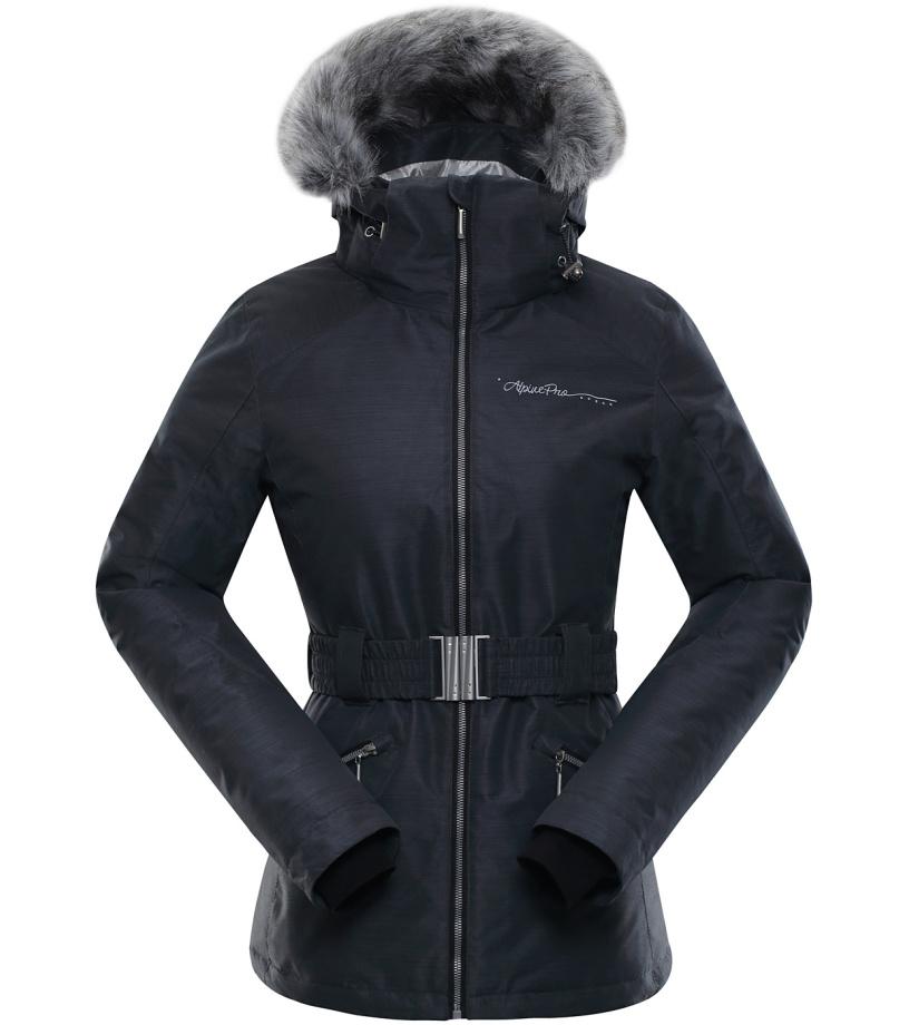 ALPINE PRO MEMKA 2 Dámská lyžařská bunda LJCK191990 černá S-L