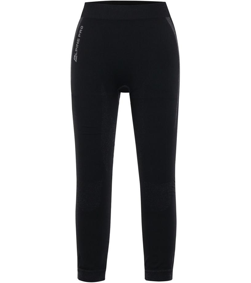 ALPINE PRO PINEIOSA 2 Dámské spodní 3/4 kalhoty LUNK033990 černá XL-XXL