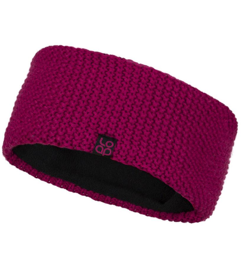 LOAP ZABEL Zimní čelenka CSU1810J74J růžová 52 d340e6d141