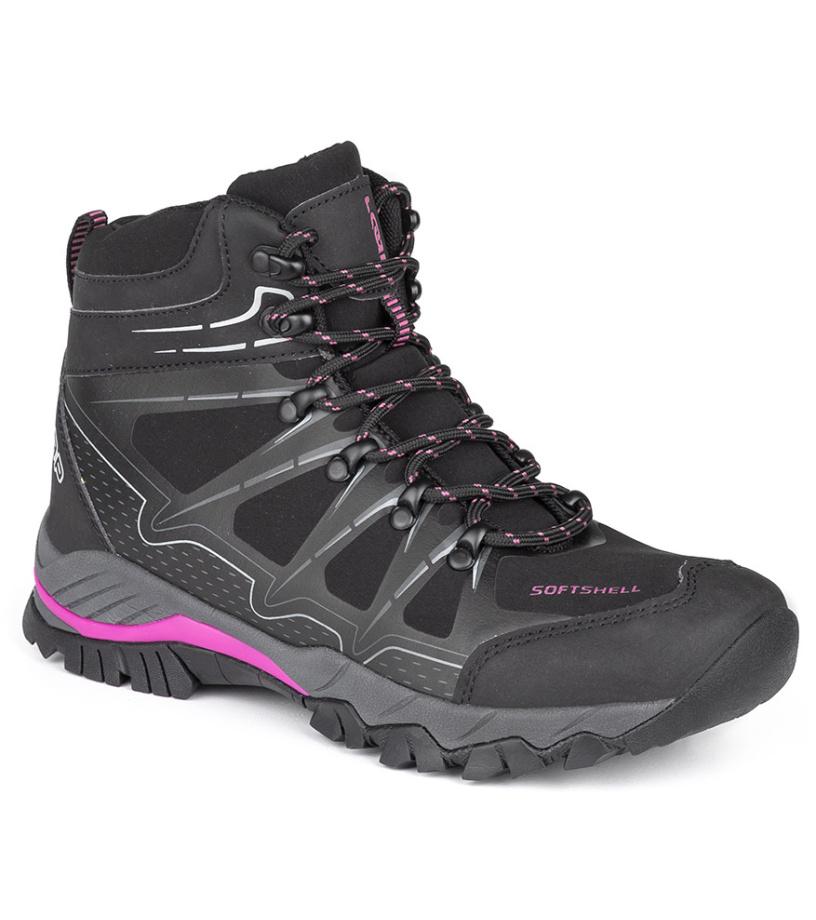 LOAP SORGEN W Dámská outdoorová obuv HSL18170V11J černá/červená 37