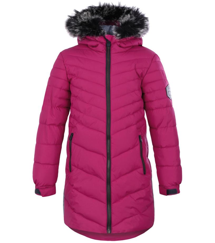 LOAP OKSARA Dětský zimní kabát L8105J02J růžová 116