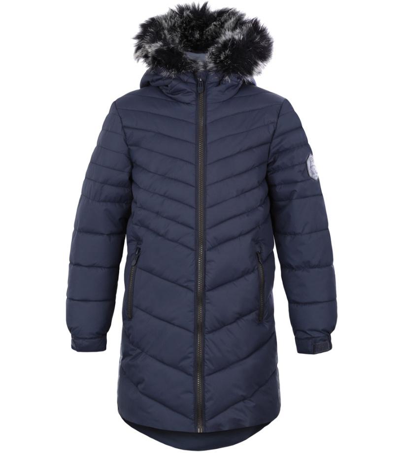 LOAP OKSARA Dětský zimní kabát L8105V02V Ebony 116