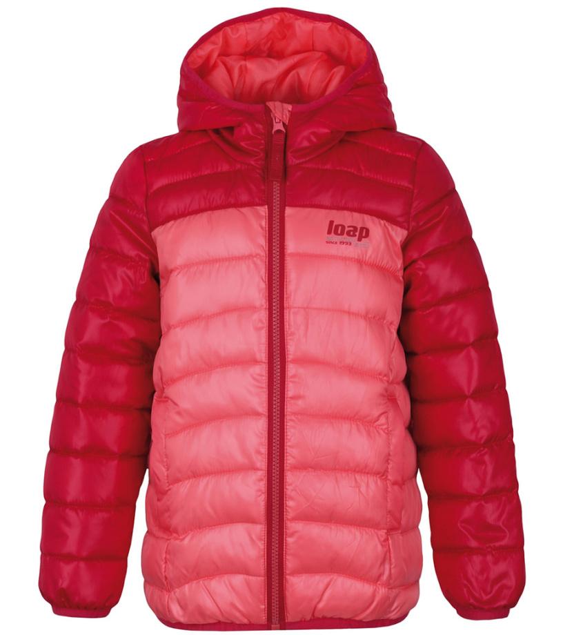 LOAP IMEGO Dětská zimní bunda L8128E55E Calypso Coral 116