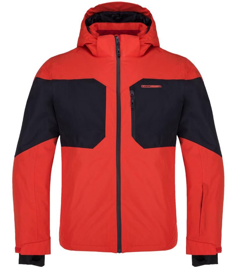 LOAP FRITZ Pánská lyžařská bunda OLM1820G20L Fiery Red S