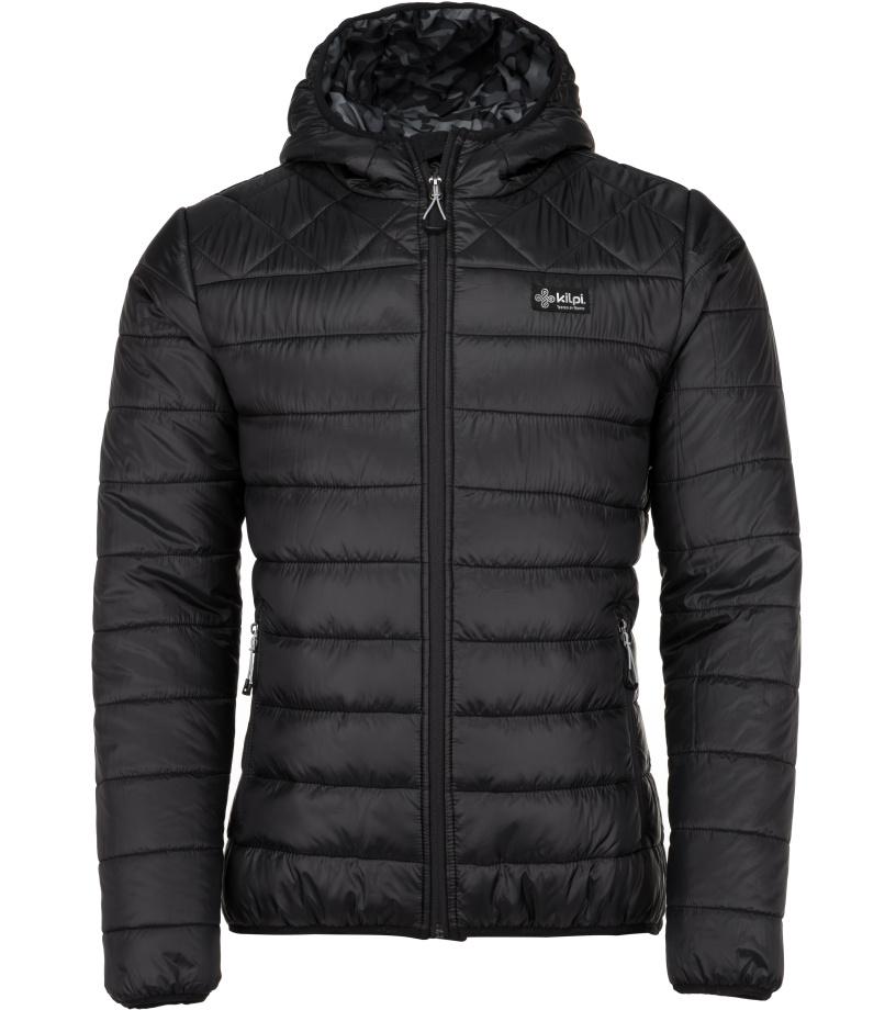 KILPI Pánská bunda - větší velikosti FITZROY-M JMX051KIBLK Černá