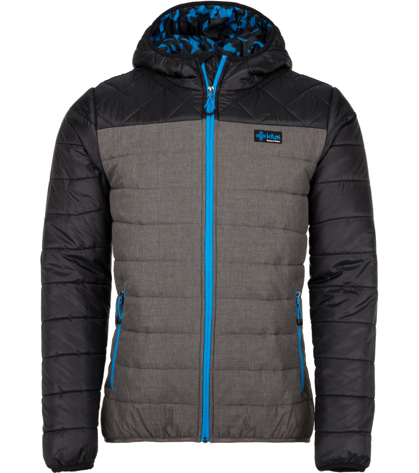 KILPI Pánská bunda - větší velikosti FITZROY-M JMX051KIBLU Modrá