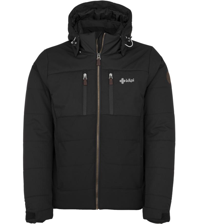 KILPI Pánská zimní bunda - větší velikosti TORRES-M JMX055KIBLK Černá