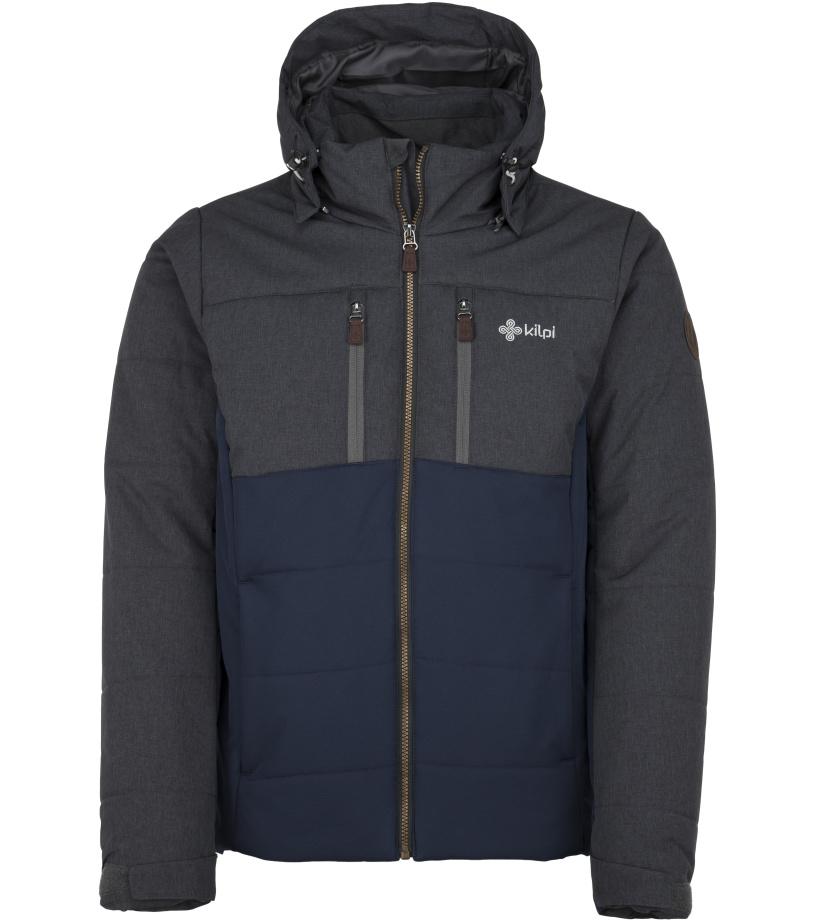 KILPI Pánská zimní bunda - větší velikosti TORRES-M JMX055KIDBL Tmavě modrá