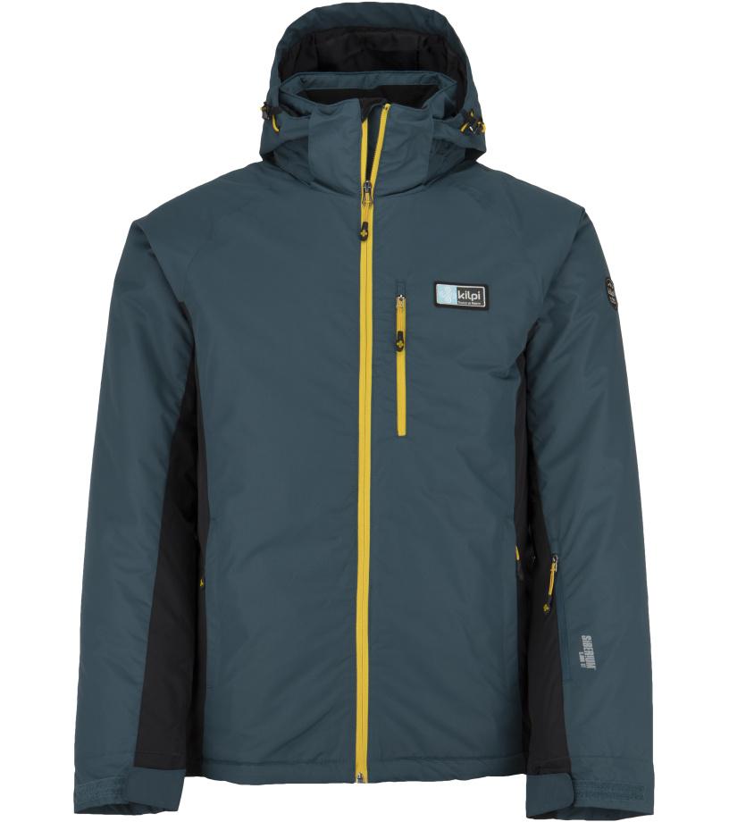 KILPI Pánská lyžařská bunda - větší velikosti CHIP-M JMX077KITRQ Tyrkysová