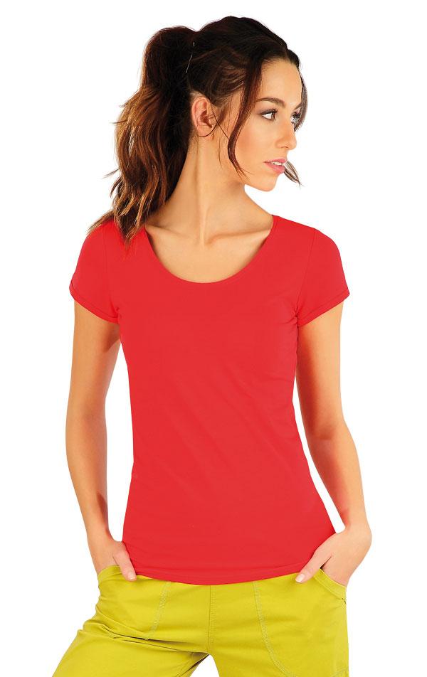 LITEX Tričko dámské s krátkým rukávem 58185306 červená M