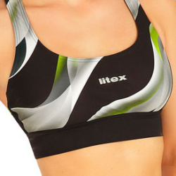 Plavky športový top bez výstuže 6B331 LITEX