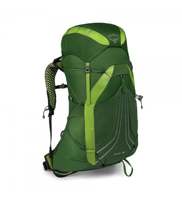 45fefdce538 OSPREY Exos 48 II Outdoorový batoh OSP2103052202 tunnel green LG