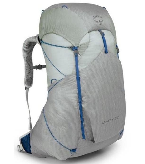 OSPREY Levity 60 Outdoorový batoh OSP2103052901 parallax silver LG