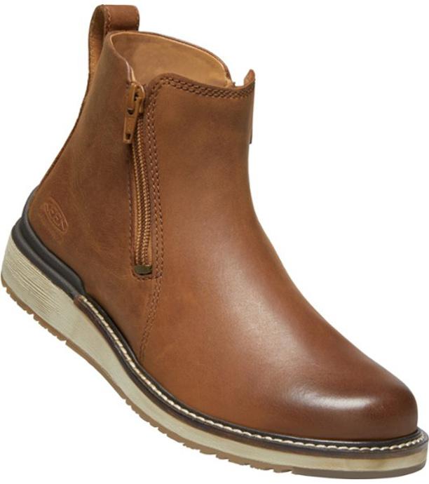 KEEN BAILEY ANKLE ZIP W Dámská městská obuv 10008955KEN01 cognac 5,5(38,5)
