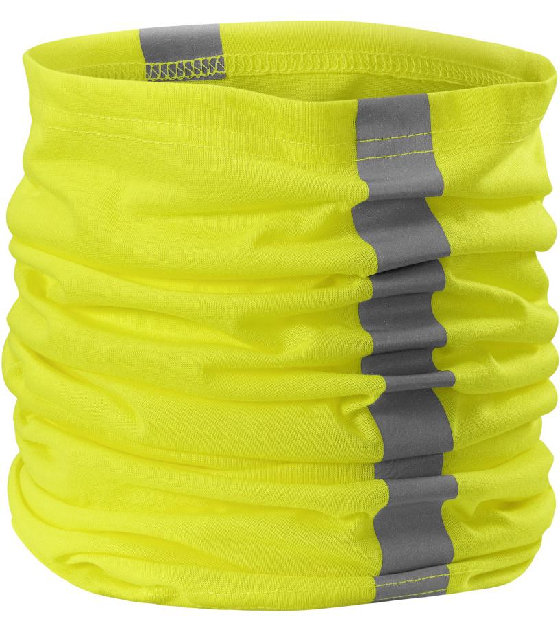 RIMECK HV Twister Šátek 3V897 reflexní žlutá UNI