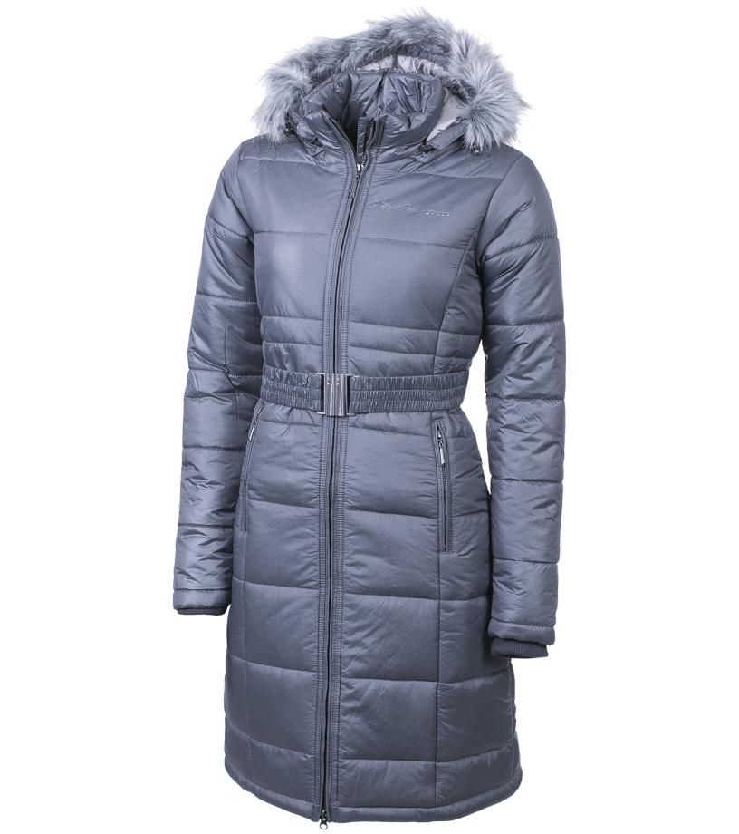 ALPINE PRO THERESE Dámský kabát LCTF020779 tmavě šedá XS