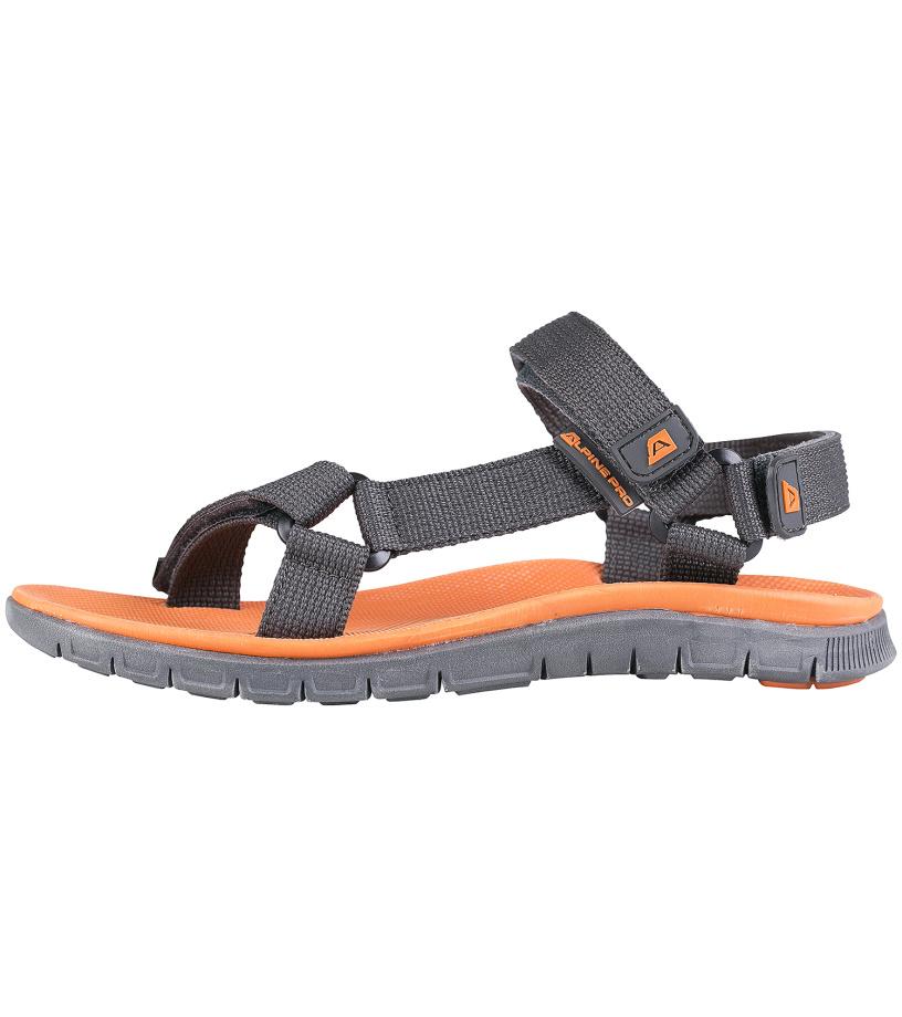 ALPINE PRO DRESSON Uni sandály UBTG101779 tmavě šedá 37