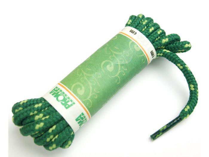 PROMA Šněrovadla (tkaničky) SPORT kulatá 170p1639 zelená - hrášková 120 cm