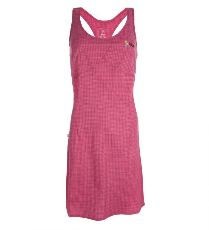 KILPI Dámské šaty ROSSELA CL0045KIPNK Růžová 38
