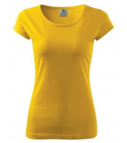 ADLER Pure Dámské triko A2204 žlutá L