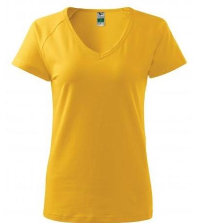 ADLER Dream Dámské triko A2804 žlutá L